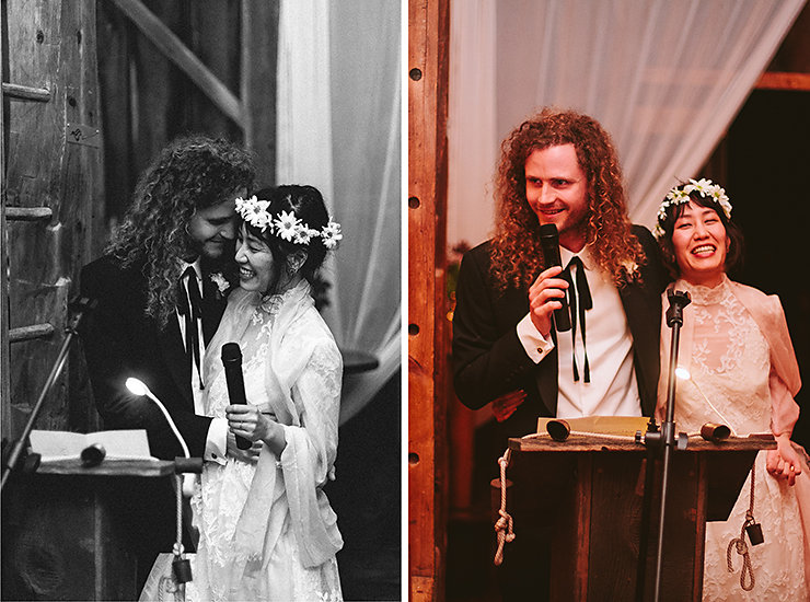73 Bride And Groom Speech At Wedding Reception At Brooklands Farm